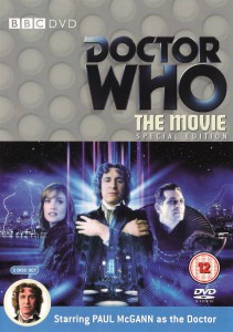 Doctor Who The Movie DVD Cover