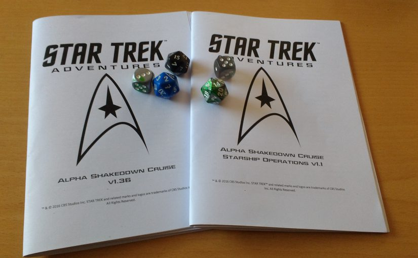 Playtest – Star Trek Adventures Akt 3: Mehr Klingonen
