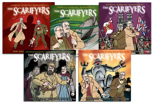 Reihenfolgen – The Scarifyers